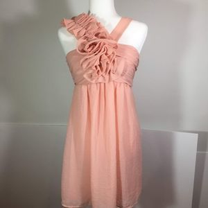 Lulu's Peach or Blush Cocktail Dress Small